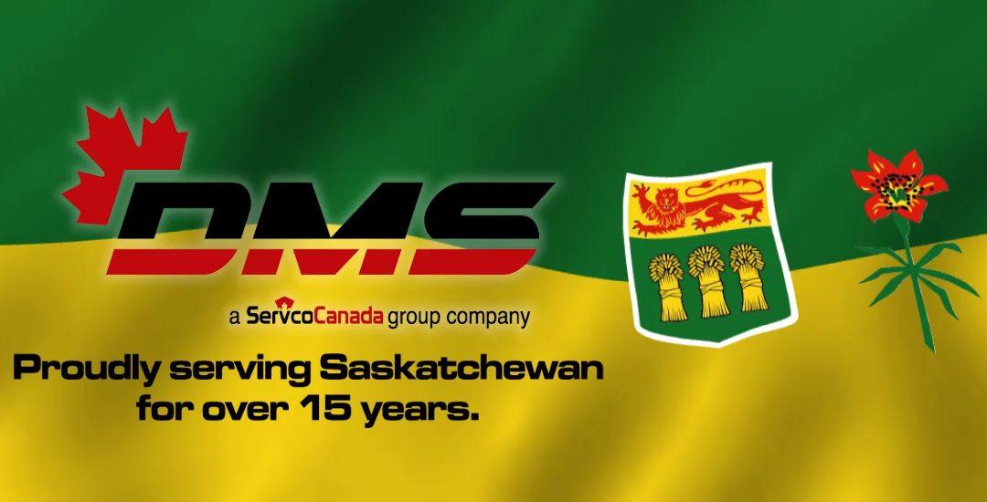 DMS Industrial Contractors Enters Saskatchewan!